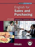 Учебник с диском Express Series English for Sales and Purchasing, Lothar Gutjahr | OXFORD ()