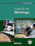 Учебник с диском Express Series English for Meetings, Kenneth Thomson | OXFORD ()
