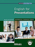 Учебник с диском Express Series English for Presentations, Marion Grussendorf | OXFORD ()