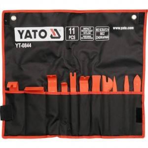 Набор съемников обшивки 11 пр. YATO YT-0844, фото 2