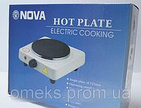 Электрическая плита 1 дисковая NOVA 1000w DJV /8, фото 1