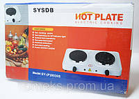 Электрическая настольная плита Hot Plate 8020S на 2 диска 2000w DJV /081 N