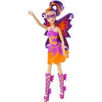 Барби Помощница супергероини, Суперпринцесса, кукла в розовом костюме. Barbie. Mattel, в розовом костюме