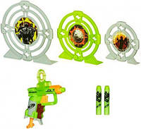 Бластер Jolt с мишенями и дротиками, Zombie Strike, Nerf