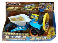 Грузовик металлоискатель Матчбокс (Matchbox Treasure Truck Metal Detector), mattel