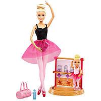 Игровой набор Barbie балетная школа, (Barbie Ballet Instructor Playset), Mattel,