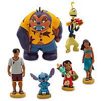 Игровой набор Лило и Стич (Lilo & Stitch Figure Play Set),6 фигурок, disney