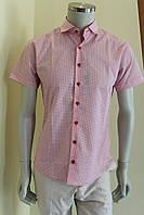 Мужская рубашка с коротким рукавом 10/3 9752/17467, фото 1
