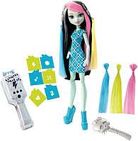 Кукла Monster High Фрэнки Штейн Высоковольтная прическа ( Voltageous Hair Frankie Stein), mattel