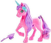 Любимец Barbie серии Сказочно-длинные волосы, единорог, Barbie, Mattel