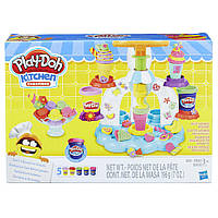 "Набор Плей До ""Фабрика мороженного"" (Play-Doh Swirl ""N Scoop Ice Cream Playset)"