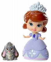 Принцесса София и Клевер, мини-кукла, Disney Sofia the First, Jakks Pacific
