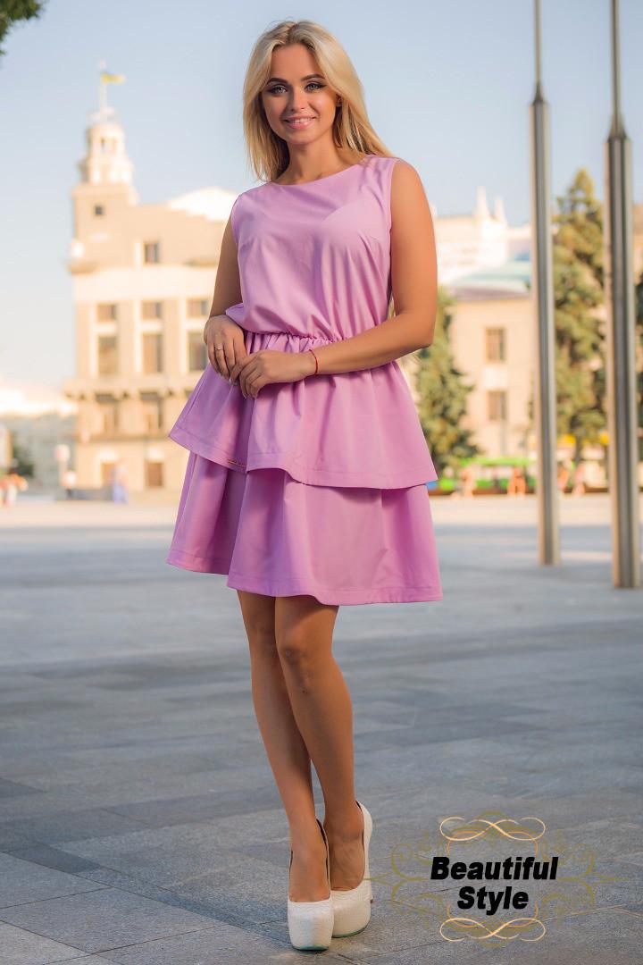Летнее платье Ингрид