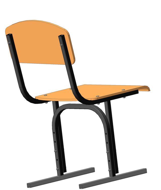 Школьный стул регулируемый по высоте