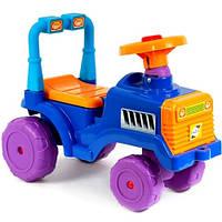 Детская машинка каталка Беби трактор