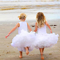 Очень пышные юбки pettiskirt Белые