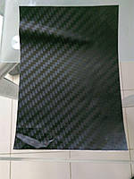 Кузовная пленка карбон ST-202 BK 1.52 х28 м Черная чешуя 4D