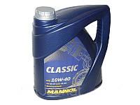 Масло моторное п/синтетика MANNOL Classic 10W-40 4L SN/CF