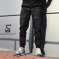 Черные карго брюки ТУР Prometheus