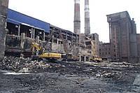 Промышленный демонтаж зданий и предприятий с вывозом мусора