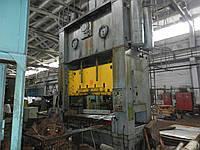 Пресс листоштамповочный двухкривошипный КБ-3534А