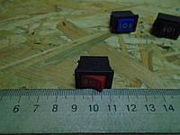 Кнопка автомобильная 12В 3 положения (газ, ГБО), фото 1