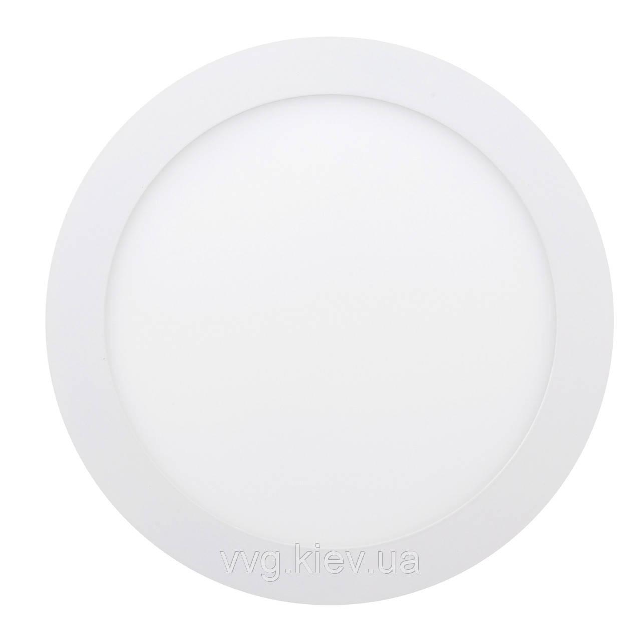 Точечный светильник встраиваемый 18W 6400К LED-R-225-18 ЕВРОСВЕТ