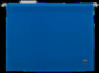 Подвесной файл А4, пластиковый, синий
