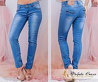 Стильные женские джинсы с карманами