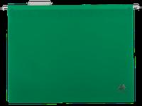 Подвесной файл А4, пластиковый, зеленый
