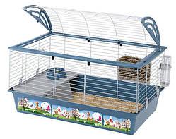 Ferplast CASITA 100 DECOR Клетка с рисунком для кроликов и морских свинок