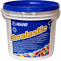 Двухкомпонентный полиуретановый клей Keralastic T.Mapei.5 кг ,белый