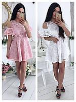 Платье люкс .Качественный гипюр Размер универсальный 42/46