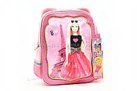 Рюкзак школьный каркасный «Барби гламур» BB0322A, фото 1
