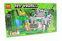 Конструктор Майнкрафт «My world» - храм в джунглях, фото 1