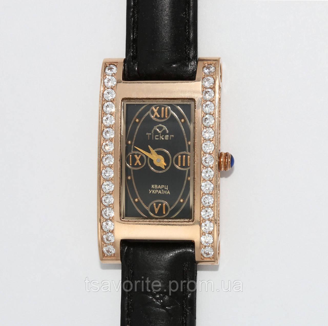 Женские золотые часы Харьковская ювелирная фабрика 39004