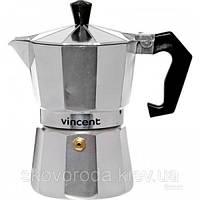 Кофеварка гейзерная алюмин. на 3ч.Vincent VC-1365-300