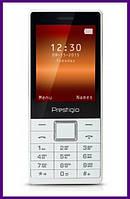 Телефон PRESTIGIO MUZE B1 1280 DS (WHITE). Гарантия в Украине 1 год!
