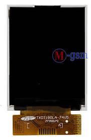 Дисплей (экран) для телефона FLY DS103