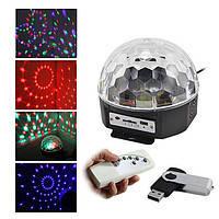 Магический Светодиодный Шар (LED Magic Ball Light AB-0005) – отличная идея для дискотек