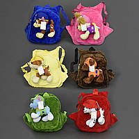 Рюкзак дошкольный детский с игрушкой 555-49 Щенячий патруль 6 видов