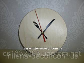 Часы d=20 см + часовой механизм (вилка, нож)