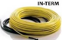 Тонкий нагревательный кабель In-Term (350Вт) 1.7 - 2.0 м.кв.