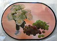 Сервировочная подставка под тарелки на основе (Овал ПЕ) 12 шт