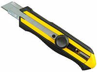Нож строительный с 18мм сегментным лезвием для отделочных работ Stanley  l= 170 мм