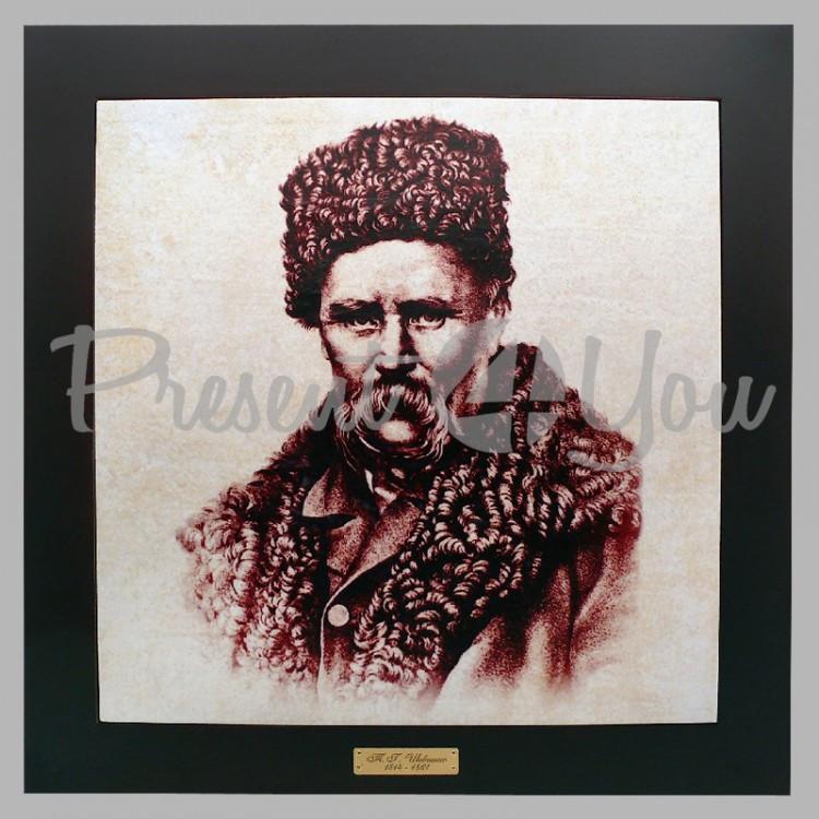 Панно настенное «Т.Г.Шевченко», 33х33, 41х41 см. (262-1808B)