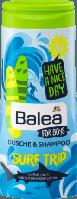 Детский шампунь-гель Balea for boys Shampoo&Dusche SURF TRIP