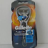 Станок мужской для бритья Gillette Fusion Proshield + 1 картриджа (Фюжин прошилд)