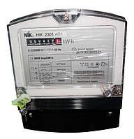Счетчик NIK 2301 АP1 5-100А (3х220/380В) - СНЯТ С ПРОИЗВОДСТВА замена на модель NIK 2301 АP3 5-120А