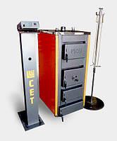 Котел твердотопливный с автоматикой 20 кВт СЕТ 20Р
